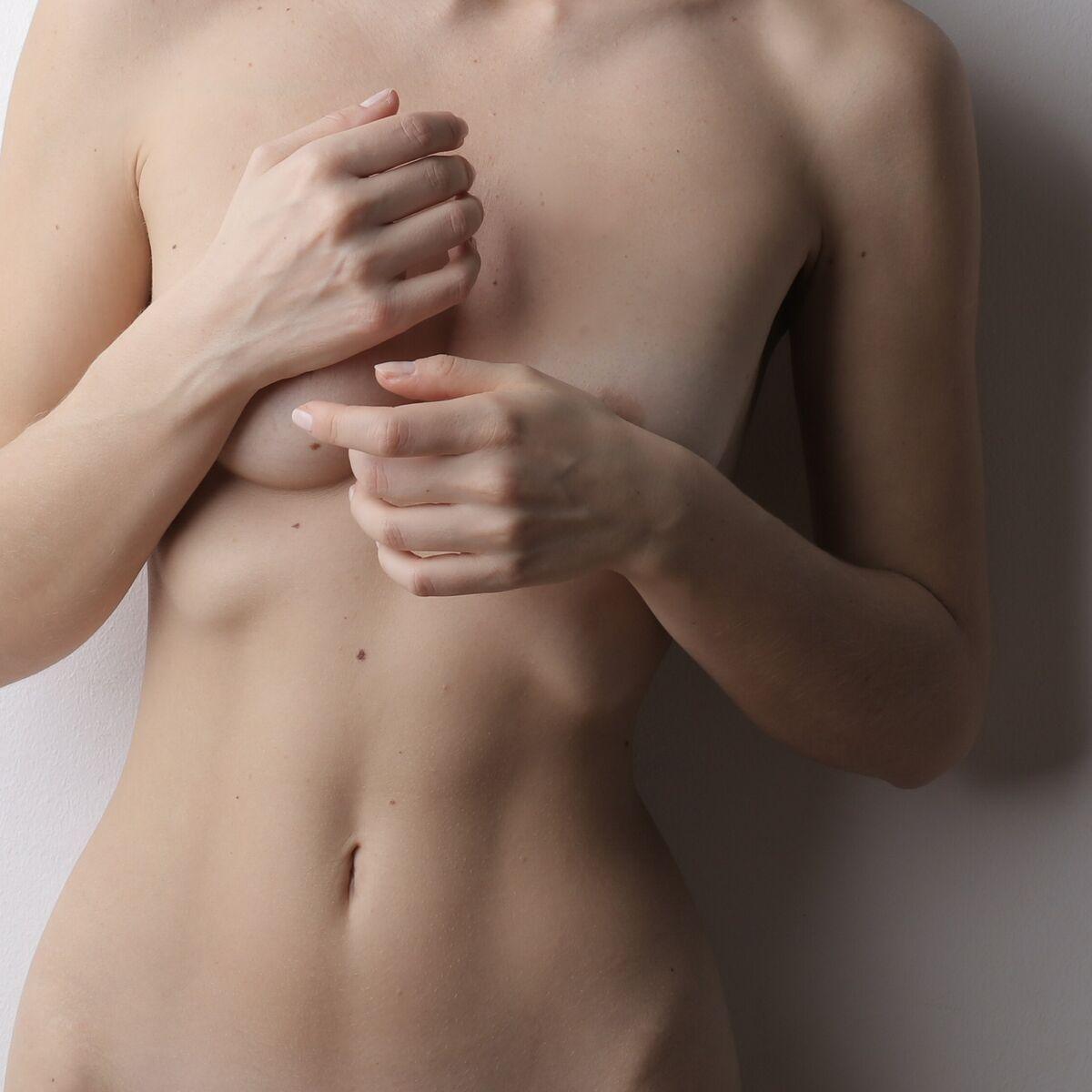 Brust normal große unterschiedlich Unterschiedlich große