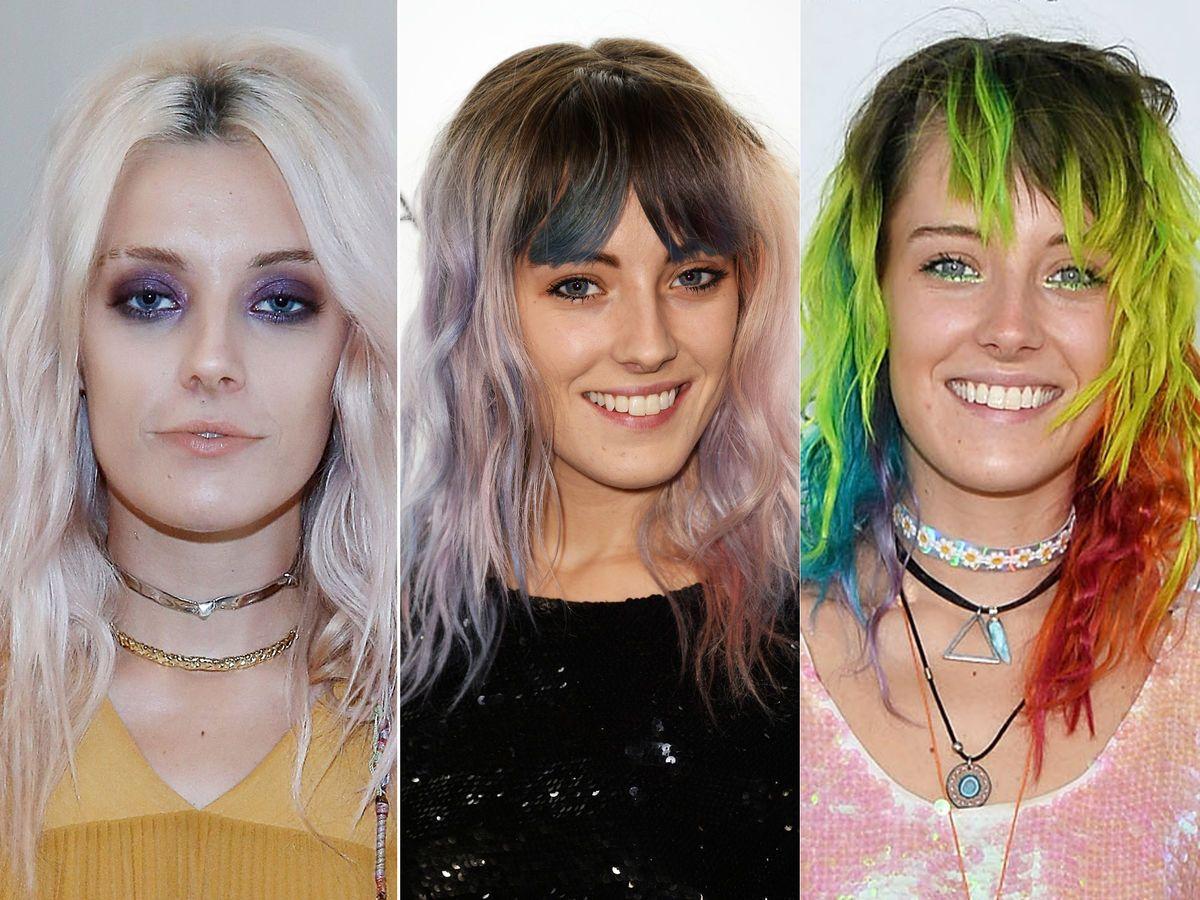 Haare färben von schwarz auf blond