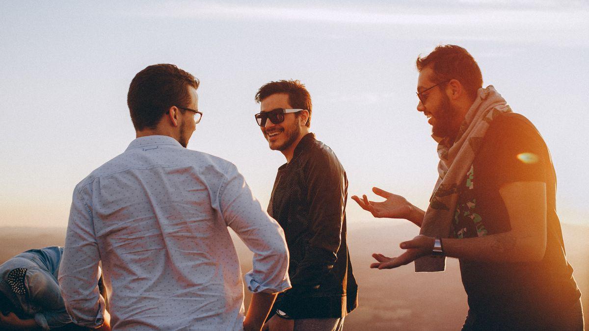 Männer mit sommersprossen