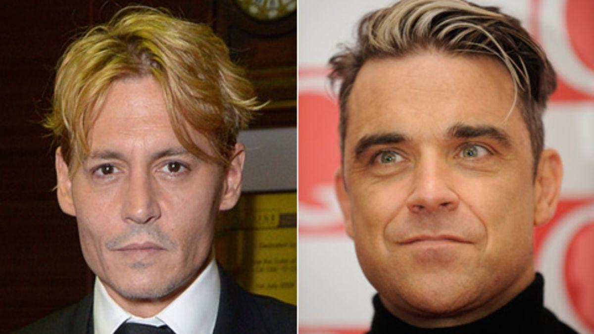 Haare schauspieler mann braune Rot (Haarfarbe)