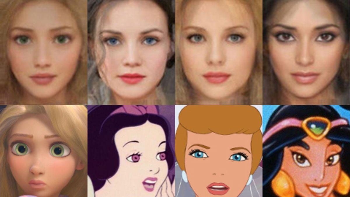 Disney Prinzessinnen werden real