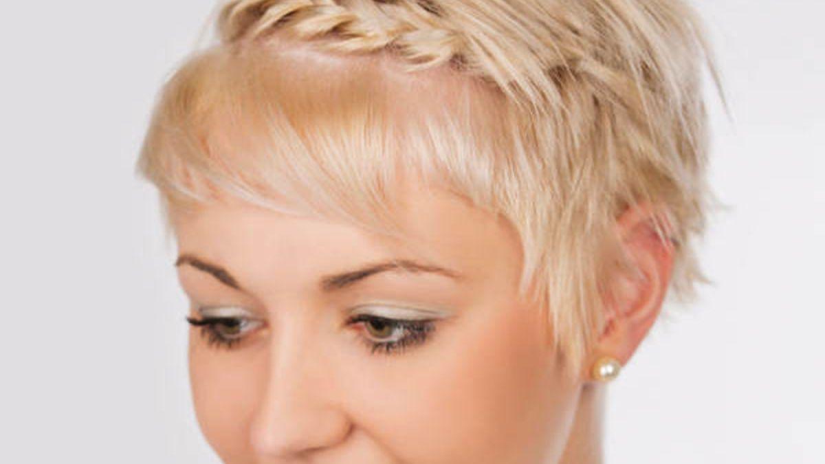 Flechtfrisuren Fur Kurze Haare