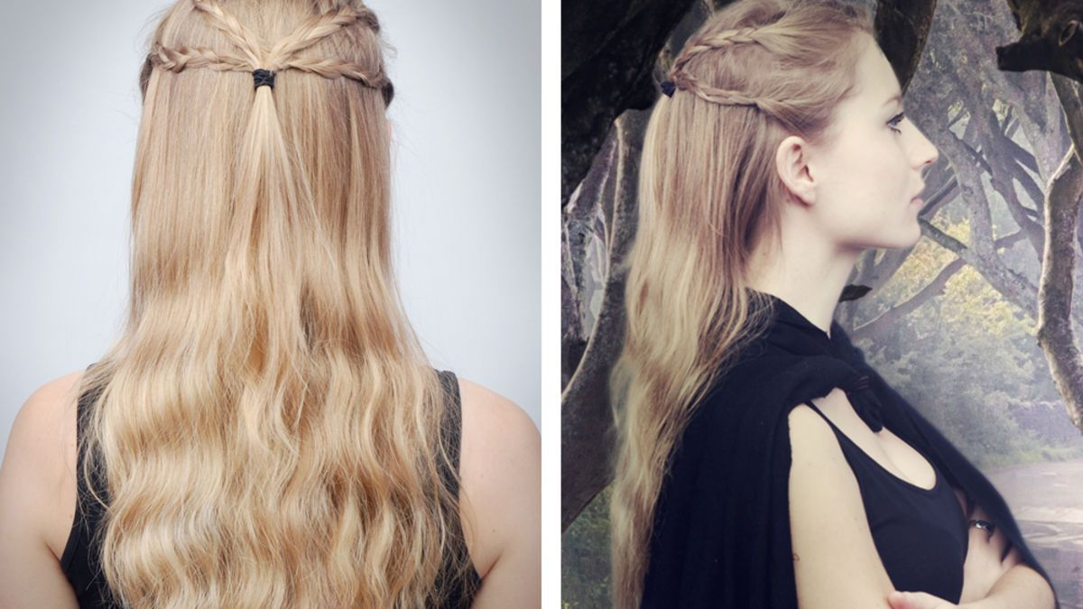 Game Of Thrones Daenerys Targaryen Frisur Coiffure