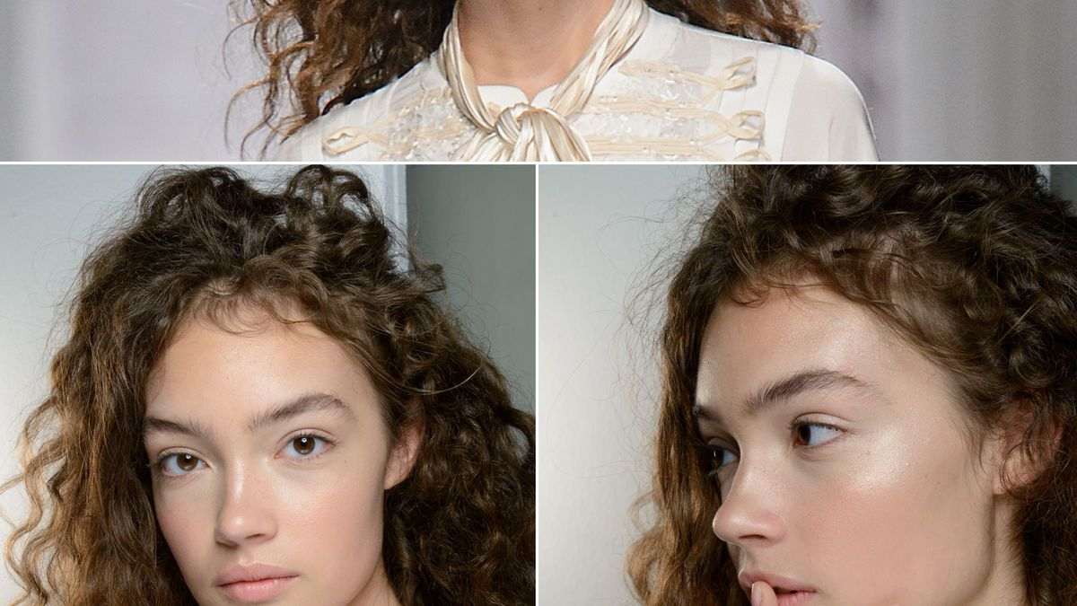 Haarschnitt für dickes, lockiges Haar