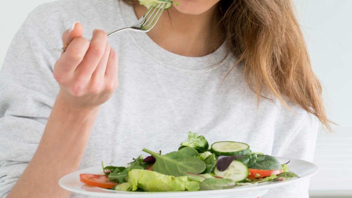 Ausgewogenes Diätmenü für eine Woche