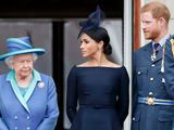 Queen Elizabeth Meghan Markle Prinz Harry
