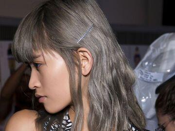 Kurzhaarfrisuren Grau Gefärbt Frisuren Kurze Haare