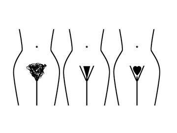Männer intimrasur trends Intimfrisuren: So