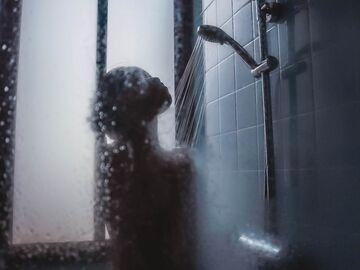 Mädchen Haben Sex Die Dusche