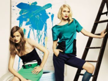 Mode 2011: Colorblocking