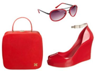 Trend: Rote Accessoires