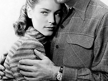 Lauren Bacall und Robert Pattinson