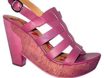 Pinke Clogs von Replay