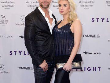 Dennis Uitz Und Natalia Osada Auf Der Fashion Week