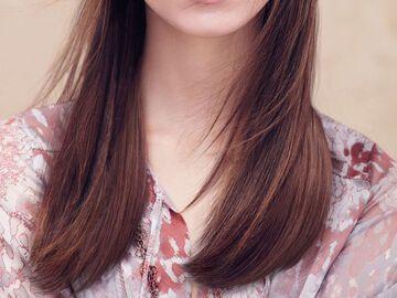 Hellbraune Haare Mit Akzenten In Karamell