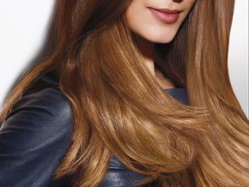 Walnuss Haarfarbe