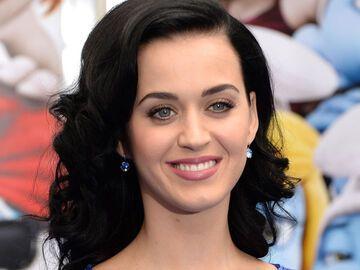 Katy Perry Haare Elegante Frisur