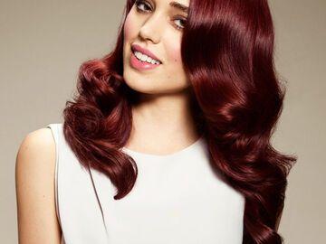 Ziegelrot Haarfarbe