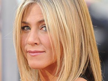 Glatter Long Bob Von Jennifer Aniston