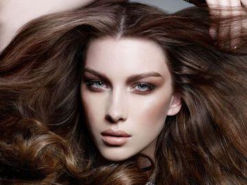 Haarfarben Trends Brunett