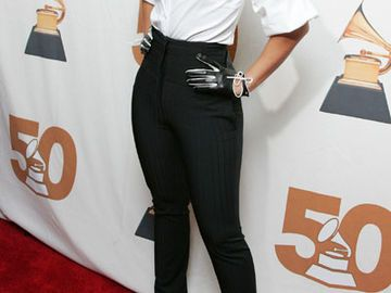 Alicia Keys stilvolles Outfit