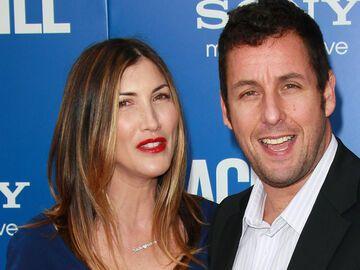 Adam Sandler und seine Ehefrau Jackie