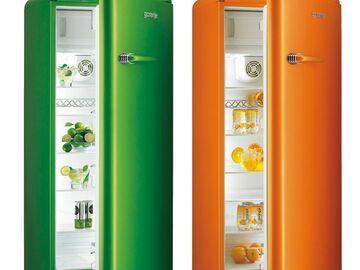 Gorenje Kühlschrank A : Wohnideen für die küche: bunter gorenje kühlschrank