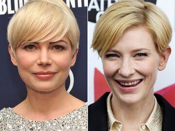 Stars Mit Blonden Kurzen Haaren