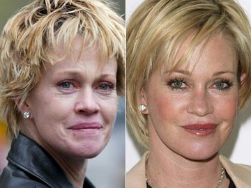 Melanie Griffith ohne Make-up