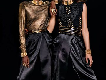 H&M Balmain - Das Lookbook