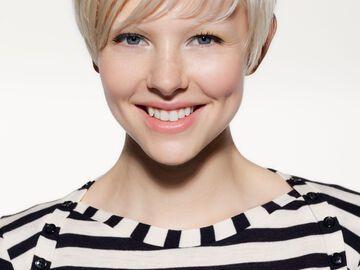 Kurzhaarfrisur für dünnes Haar