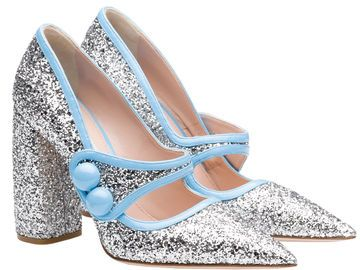 Miu Miu Glitzerpumps