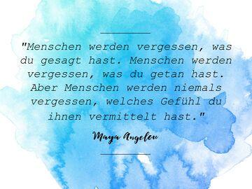 Maya Angelou Zitat