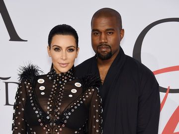 Kimye_Saint erstes Foto_Getty