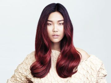 Lange Haare Mit Farbverlauf