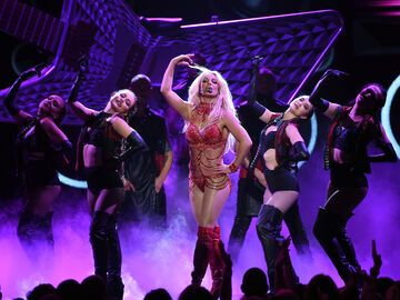 Britney Spears Auftritt Billboard Music Awards