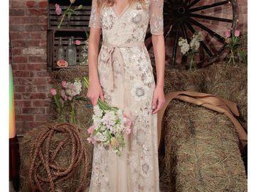 Hochzeitskleid Hippie Style