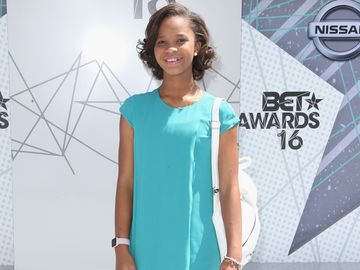 Quvenzhane Wallis bei den BET Awards 2016