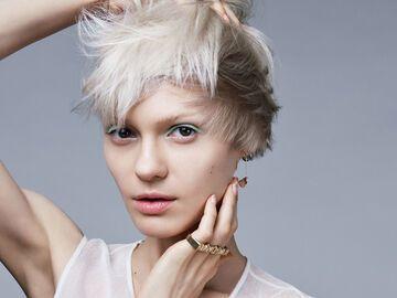 Kurze Haare Blond Färben