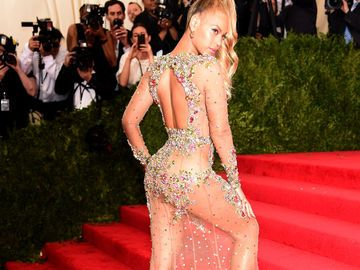 Beyoncés Naked Dress bei der MET Gala 2015