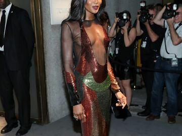 Naomi Campbell bei Tom Ford A/W 2016