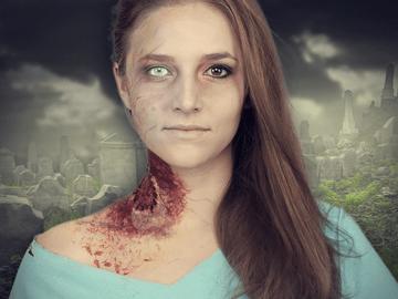 Zombie Schminken Step By Step Anleitung