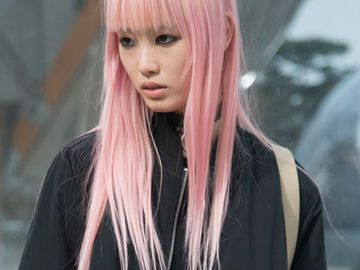 Pink Pastell Haare