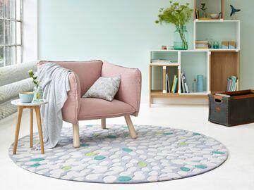 Teppiche für Küche, Schlafraum und Wohnzimmer
