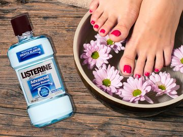 listerine-pedicure