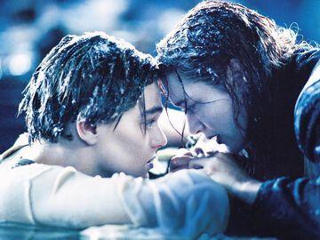 Titanic Jack Und Rose Im WaГџer