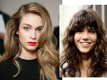 Kurze haare und locken
