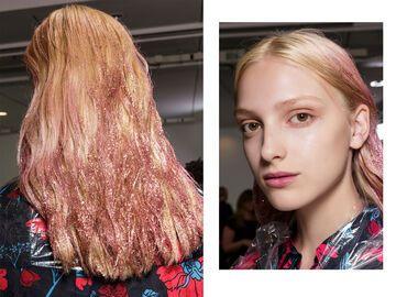 Glitter Balayage Ist Der Neue Haartrend Der Stunde