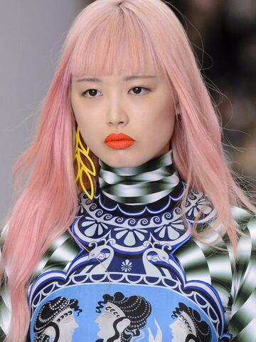 Pastell Haarfarbe