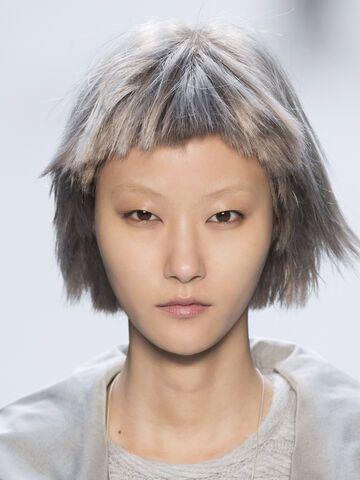 40 mit graue frisuren haare 60 wunderschöne